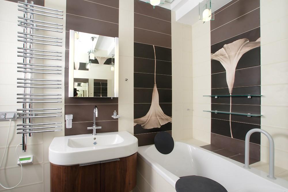 Готовые дизайны ванных комнат